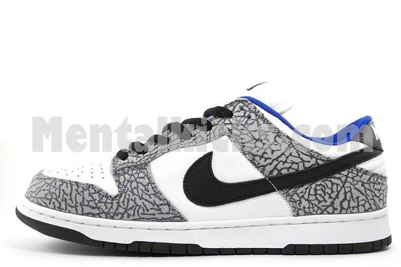 detailed look ed460 caeab nike dunk low pro sb supreme white cement