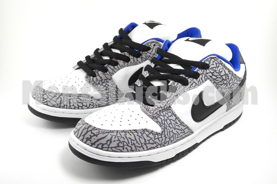 preview of best website 2018 shoes Mentalkicks.com - nike dunk low pro SB supreme white cement ...