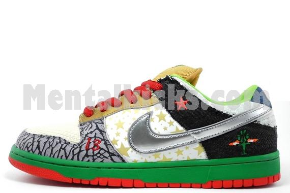 new styles 518d7 d2f61 nike dunk low pro SB what the dunk