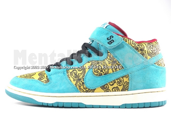 buy popular 99d63 b44a5 nike dunk mid premium sb peacock