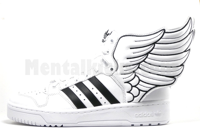 Adidas Jeremy Scott Wings Shoes 2.0 White Black | Sneakers