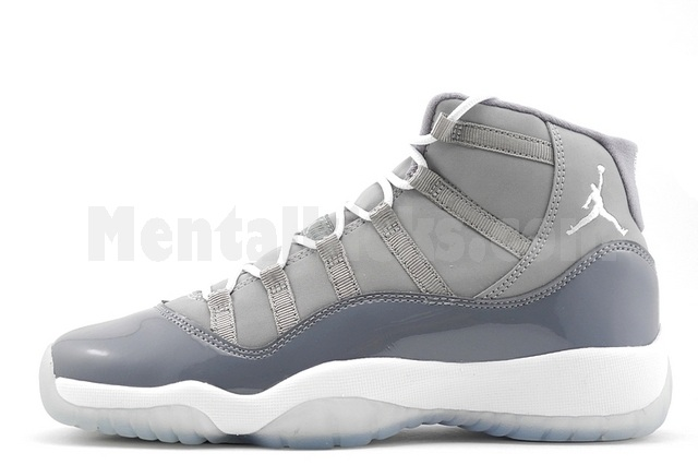 beebcea1fa38 Mentalkicks.com - nike air jordan 11 retro cool grey GS gradeschool ...