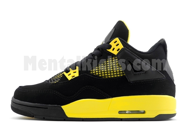 5ba8e544c196bd Mentalkicks.com - nike air jordan 4 retro thunder GS gradeschool