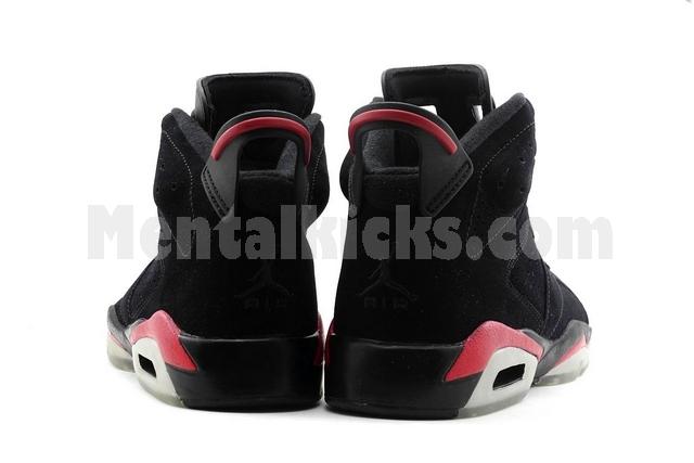 47e764469db2ac Mentalkicks.com - nike air jordan 6 retro black varsity red 384664-061