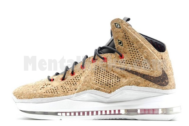 the latest e30f8 f4e72 nike lebron 10 ext cork qs 580890-200