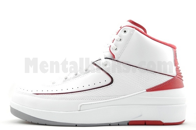 30c6f6aaff8 Mentalkicks.com - nike air jordan 2 retro white red 385475-102