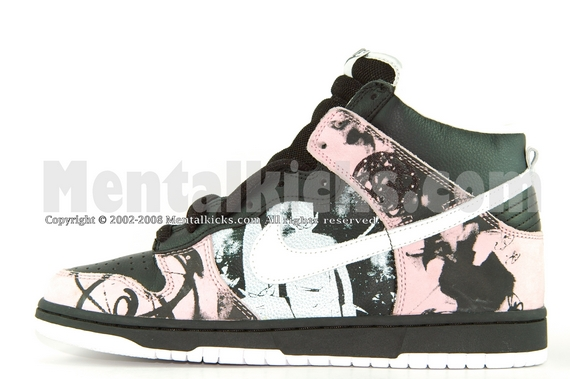 Nike dunk high SB Unkle Dunkle MOWAX