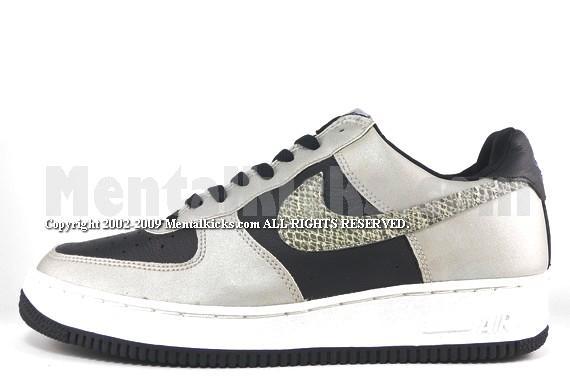 bdf18eef33605 Mentalkicks.com - Nike air force one co.jp 3M black snake