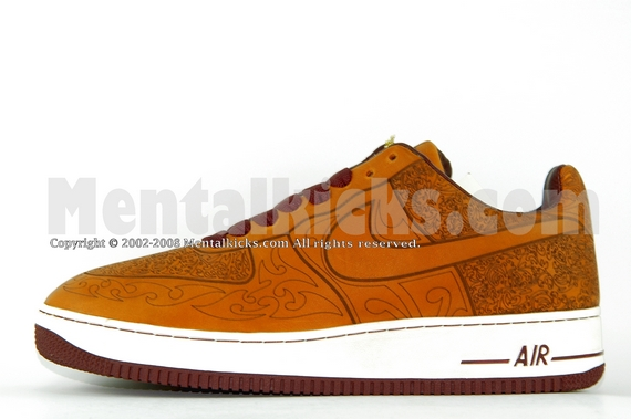 Nike Air Force 1 Low Color Shift Maroon 823511 600