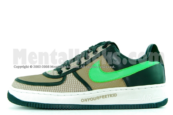 9c39d0f28484 mentalkicks 100% authentic nike air force one insideout undefeated